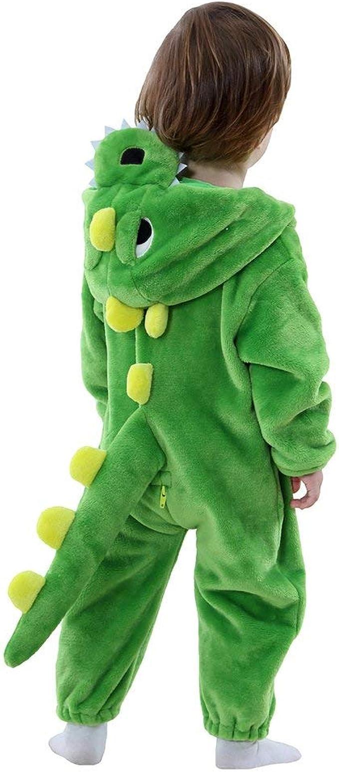 Disfraz Dinosaurio Dragon bebé Animal Onesie Dinosaurio Pijama ...