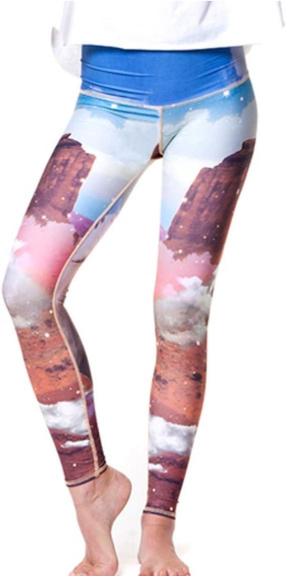 Cute Unicorn Moon and Stars Yoga Pants Gym wear