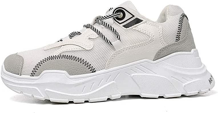 Zapatillas Deportivas para Hombre Ligeras cómodas y con Cordones Zapatillas de Deporte para Correr para Hombre para Correr Hacer Ejercicio físico: Amazon.es: Zapatos y complementos