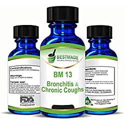 Bronchitis & Chronic Coughs Supplement Natural Remedy (BM13)