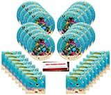 Under Sea World Coral Reef Party Supplies Bundle Pack for 16 (Plus Party Planning Checklist by Mikes Super Store)