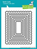 Lawn Fawn Lawn Cuts Custom Craft Die - Scalloped Rectangle Stackables (LF997)