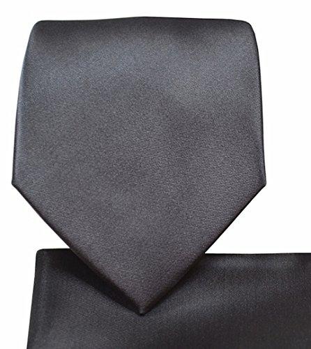 (Skinny Necktie Hanky Set- 2.75