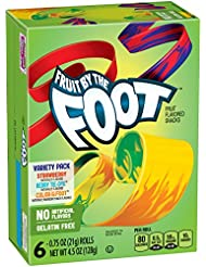 Betty Crocker Fruit By The Foot Variety Pack of Strawberry and Berry Tie-Dye, 4.5 oz