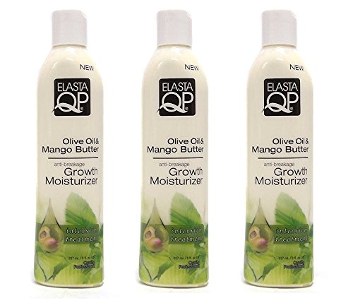 (PACK OF 3) ELASTA QP Olive Oil & Mango Butter Anti-Breakage Growth Moisturizer