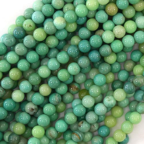 astorfarm Green Chrysoprase Round Beads Gemstone 15.5