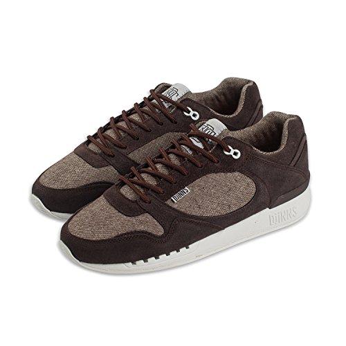 DJINNS - Easy Run Elephant (dark brown) - Sneaker Dark Brown