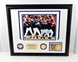 Highland Mint Mike Piazza Photo with Game Used Bat Coin and Card Framed DA025370 - MLB Game Used