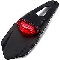 FreeLeben Luz trasera LED para motocicleta para Fender