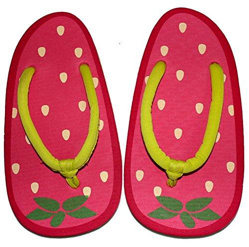 QZUnique Womens Summer Cute Fashion Creative Fruit Flip Flops Red 5 PHg24bLLc