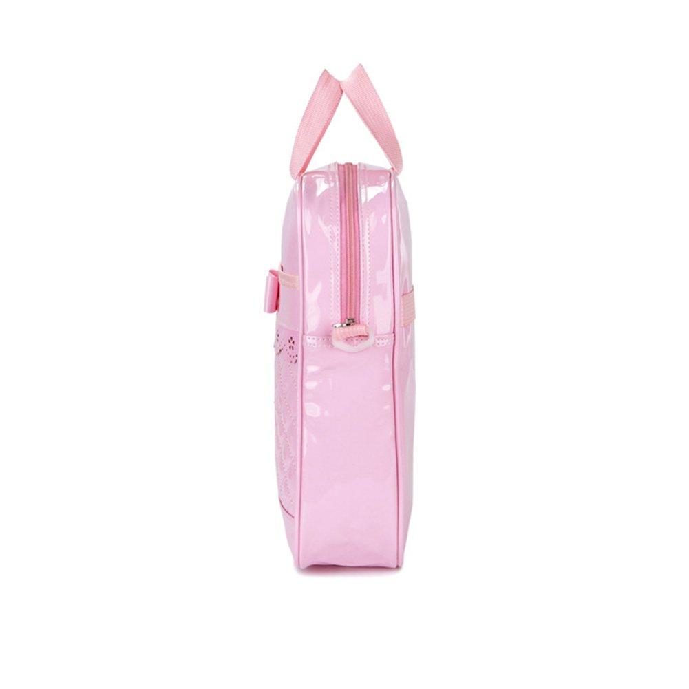 7474a02311 Outflower ragazze dei bambini mini a spalla Crossbody borse moda borsa  borsetta rosa verde Green 33*25*9cm: Amazon.it: Prima infanzia