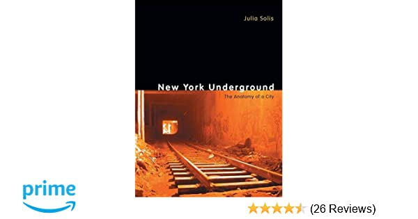 The Anatomy of a City New York Underground