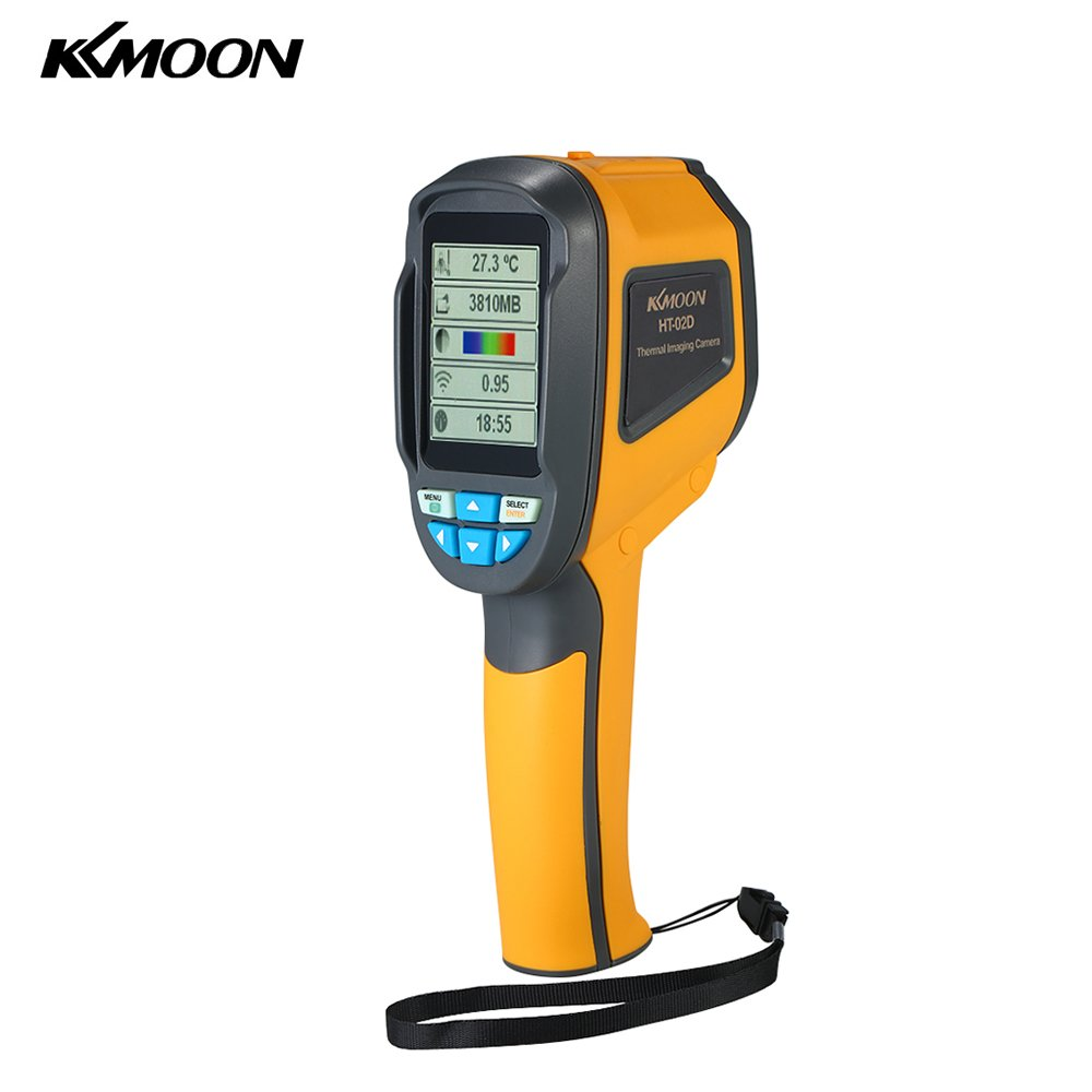 KKmoon Handheld Infrared Thermal Imager Thermometer -20°C to 300°C & IR Resolution 1024 Pixels 2.4'' TFT Color Display Imaging Camera