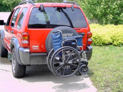 Wheelchair Carriers 001 Tilt n Tote (Car Wheelchair Carrier)