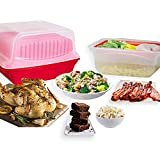 No Mess All in 1 Microwave Cooker Set For