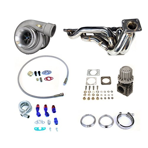 Rev9Power Rev9_TCK-034; Toyota Supra 86-91 7MGTE T4 Top Mount Turbo Set Up Kit