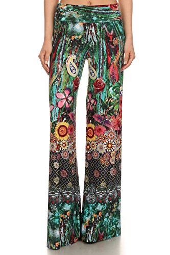 Womens Length Palazzo Trippin Watercolor product image
