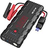 NEXPOW Car Battery Starter, 1500A Peak 21800mAh 12V Portable Auto Car Battery Charger Jump Starter Battery Pack with USB Quick Charge 3.0, Type-C (Up to 6.5L Gas or 4L Diesel Engine)