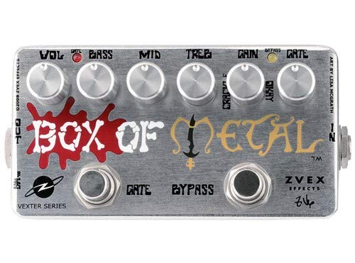 ZVex Effects Vexter Box of Metal Distortion Guitar Effects Pedal