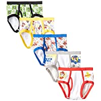 Amazon.com deals on 5-Pack Handcraft Little Boys' Paw Patrol Brief