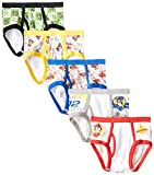 Handcraft Little Boys' Paw Patrol  Brief (Pack of 5), Assorted, 6