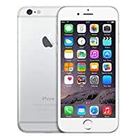 Apple iPhone 6, Fully Unlocked, 16GB - Silver (Certified Refurbished)
