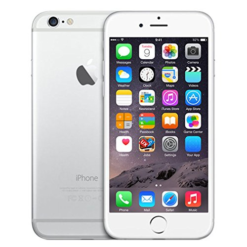 Apple iPhone 6, Fully Unlocked, 16GB - Silver (Refurbished)