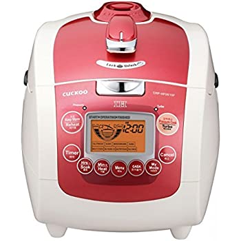 Amazon.com: Cuckoo CRP-HF0610F 6 Cup Pressure Rice Cooker