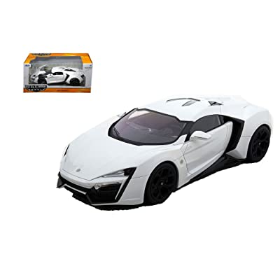 JADA 1:24 W/B BIG TIME MUSCLE - LYKAN HYPERSPORT 98028: Toys & Games