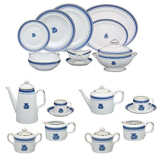 Vista Alegre Cozinha Velha Porcelain Complete 100 Pieces Dinnerware Set