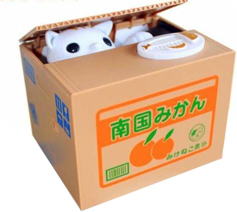 Novedad – Regalo creativo, voz robar moneda gato/Panda/Cerdo Piggy Banco/banco de monedas caja/Dinero Para Funny lovely regalo: Amazon.es: Oficina y papelería