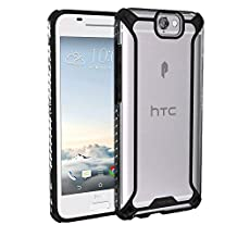 Poetic Cases Affinity Slim Fit Dual Material Protective Bumper Case for HTC One A9 Black/Clear