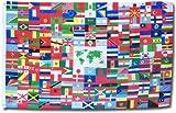 World Flag – 2′ x 3′ Nylon Flag
