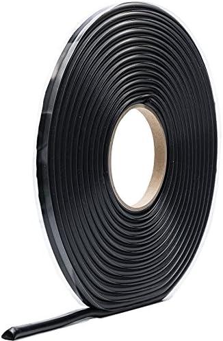 10m x 8mm selbstklebend Poppstar Butylrundschnur Klebeband Dichtband schwarz