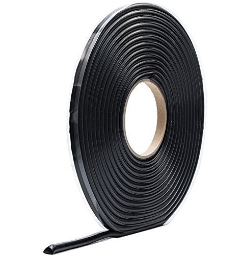 Butyl - Rundschnur Ø 6mm 7m Rolle schwarz Fugendichtband24