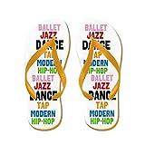 CafePress Dance Styles #3 - Flip Flops, Funny Thong Sandals, Beach Sandals