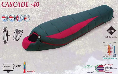 High Peak -40 Deg. Mummy Bag, 34″ Wide and 86″ Long, 2011 Model, 5 Warranty, Outdoor Stuffs