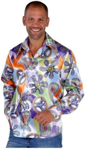70er 60 años 70s cool Shirt camisa para hombre camisa hippie talla XXL