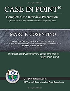 The fast track the insiders guide to winning jobs in management case in point 10 complete case interview preparation fandeluxe Choice Image
