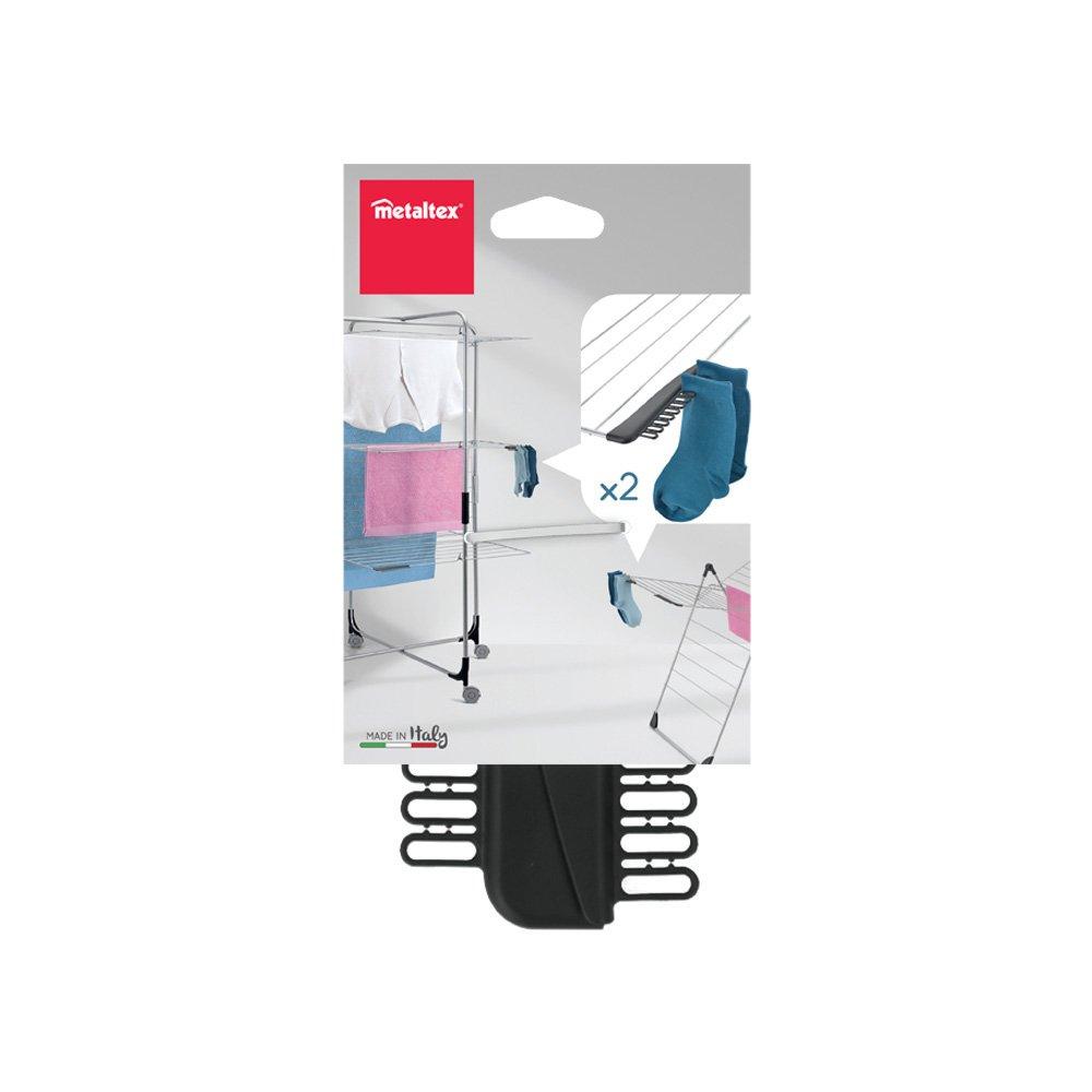 405160 Set 2 elementi porta calze Metaltex