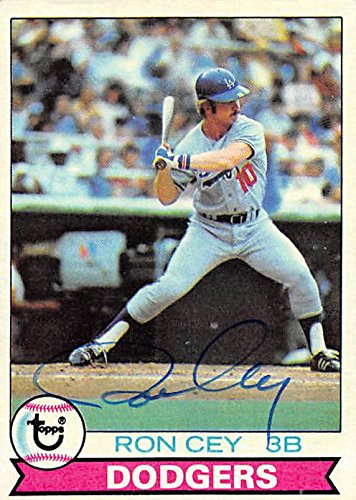 Ron Cey autographed Baseball Card (Los Angeles Dodgers) 1979 Topps #190