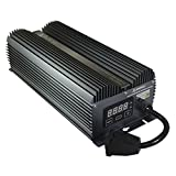 SolisTek MATRIX 1000W Version 2.0 SE/DE (Single & Double Ended) 1000 Watt Digital LCD Screen Ballast 120/240 Volt (208V Compatible)