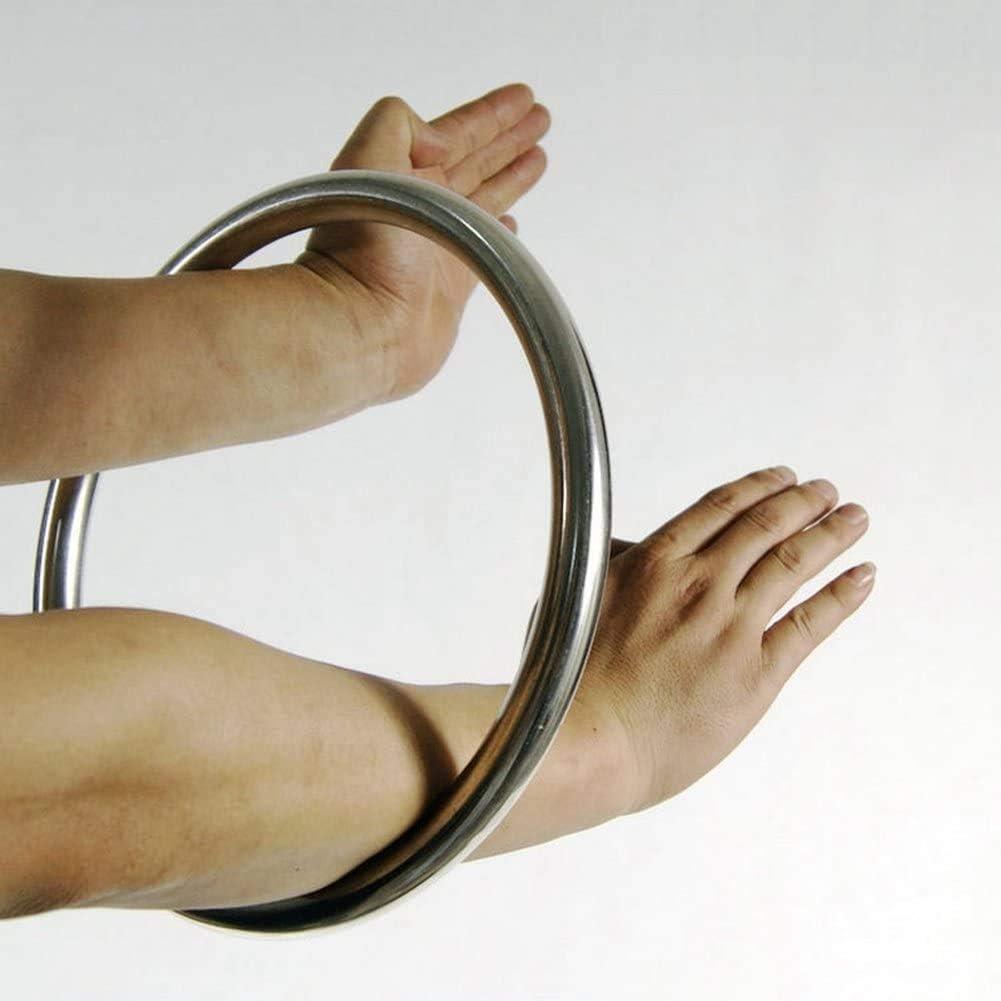 N A Wing Chun Anneau en Acier Inoxydable Anneau dentra/înement de la Force des Mains et des Pieds