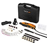 Tacklife RTD35ACL Professional Multi-functional Rotary Tool Kit with 80 Accessories and 3 Attachments Variable Speed for Around-the-House and Crafting Projects
