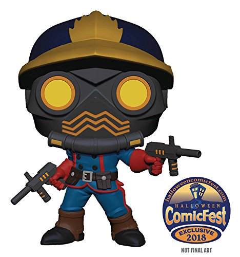 HCF 2018 POP MARVEL GOTG STAR LORD CLASSIC PX VINYL (Halloween Preview)