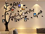 Living Room Furniture Best Deals - 3d Picture Frames Tree Wall Murals for Living Room Bedroom Sofa Backdrop Tv Wall Background, Originality Stickers Gift, Removable Wall Decor Decal Sticker (70(H) x 98(W) inches)