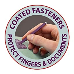 Smead Pressboard File Folder with SafeSHIELD Fasteners, 2 Fasteners, 1/3-Cut Tab, 1\