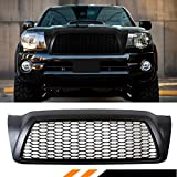 2006 toyota tacoma grill - FOR 2005-2011 TOYOTA TACOMA MATT BLACK JDM FRONT HOOD HONEYCOMB MESH GRILL GRILLE REPLACEMENT