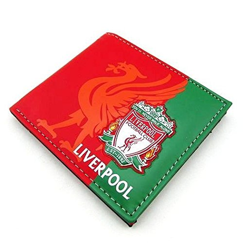 Liverpool Football Soccer Club 3D Faux Leather PVC PU Wallet Purse Billfold 5 Card Slots