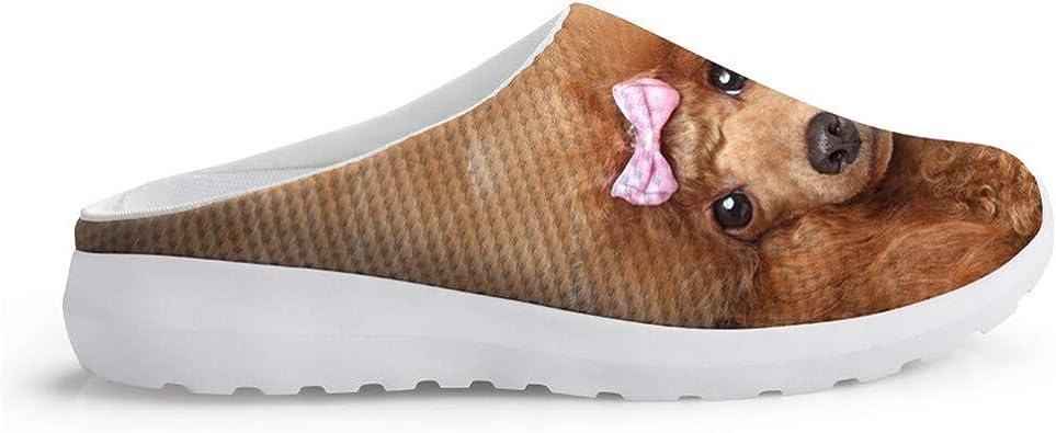 Sandalias Transpirables para Verano, Bonitas Zapatillas para el jardín, con diseño de Osito, para el jardín, Estilo Informal, Planas, Color marrón: Amazon.es: Zapatos y complementos
